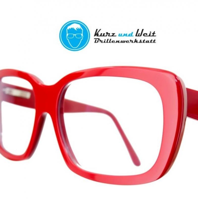 Handgefertigte Acetatbrille - Kurz und Weit Brillenwerkstatt - Köln