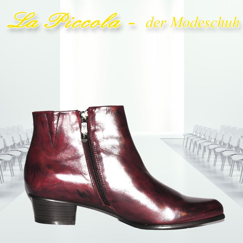 REGARDE LE CIEL STEFANY-87 VAR. 008 GLOVE SANGRIA - La Piccola der Modeschuh - Pulheim- Bild 5