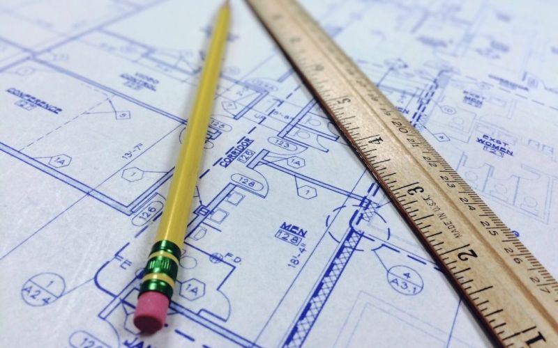 Architektur - (c) wokandapix/https://pixabay.com/de/blaupause-herrscher-architektur-964629/