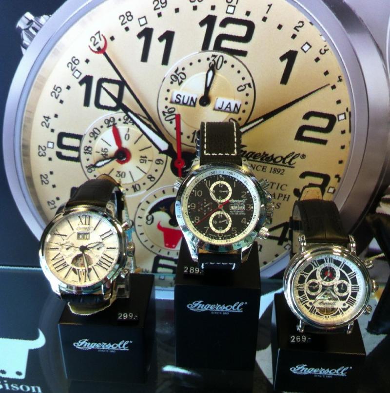 Ingersoll Uhren ab 229,-€ - Juwelier Burkhardt - Esslingen