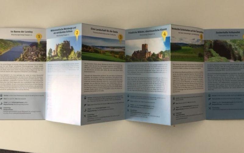 Die schönsten Wanderwege Rhein-Mosel-Gebiet aus dem J.P.Bachem Verlag / Christine Pittermann