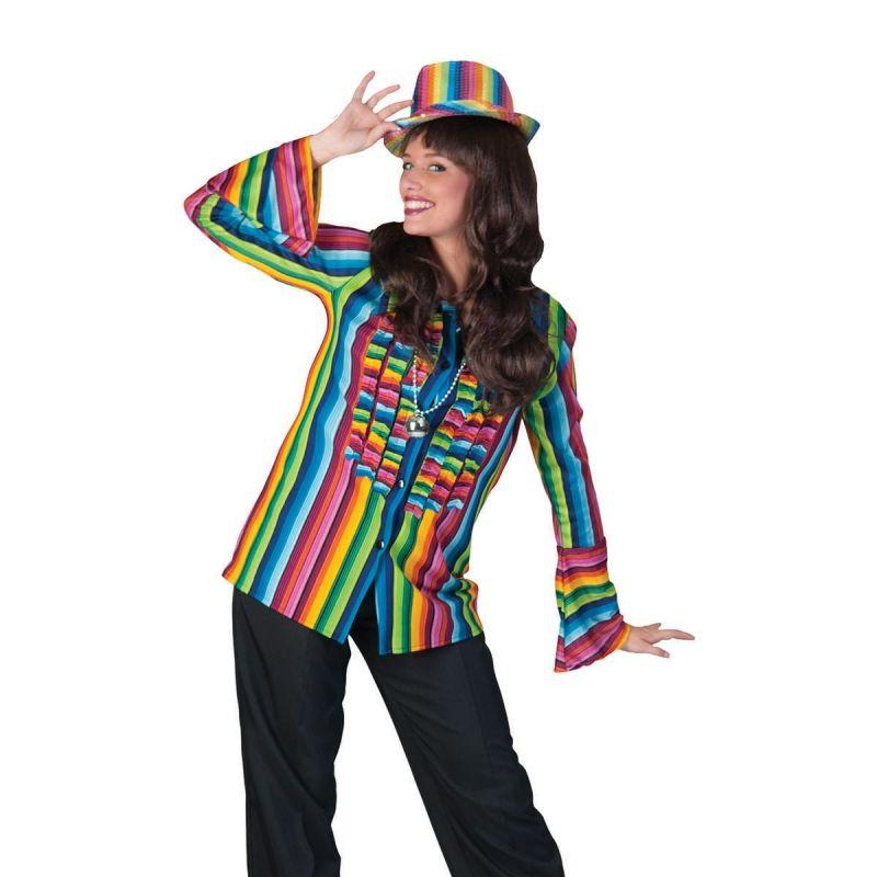 """hose-ulrike<br> Unsere """"Hose Ulrike"""" ist der perfekte Begleiter für Ihre nächste Verkleidung. Jegliche Verkleidungen im Bereich der Show, Flower Power, Berufe, Halloween etc. werden mit dieser Damenhose zu einem echten Highlight.  <br> Home/Kostüme/Hippie&Flower; Power/Damen<br> [http://www.pierros.de/produkt/hose-ulrike, jetzt auf Pierros.de kaufen]  - PIERRO'S in Mayen - Mayen"""