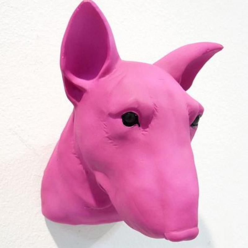 Deko Kopf Animal Material Maße: 14 x 12 x 9,5 cm  - Kunsthaus Schill - Stuttgart