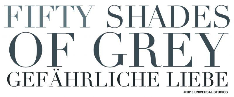 Universal Pictures Media / UPI Germany / Fifty Shades of Grey - Gefährliche Liebe / Schriftzug