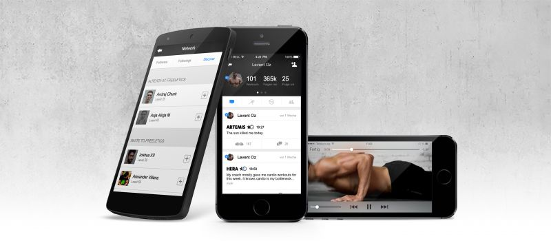 Die Freeletics Fitness-App