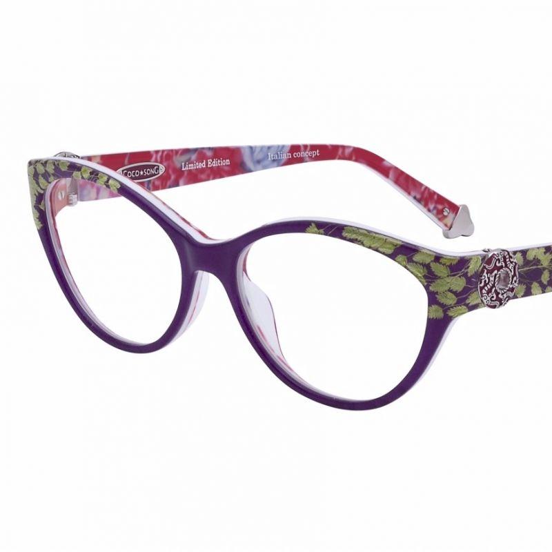 CocoSong Seidenbrille mit gepressten Blüten in limitierter Auflage - Zinsstag Augenoptik - Stuttgart