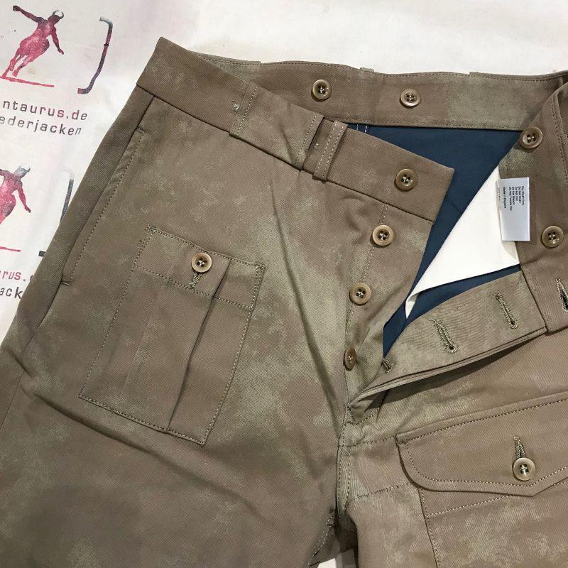 Nigel Cabourn SS18: PW Pant, double side gabardine cotton, size 30 - 38 siehe www.kentaurus.de - Kentaurus Pferdelederjacken - Köln