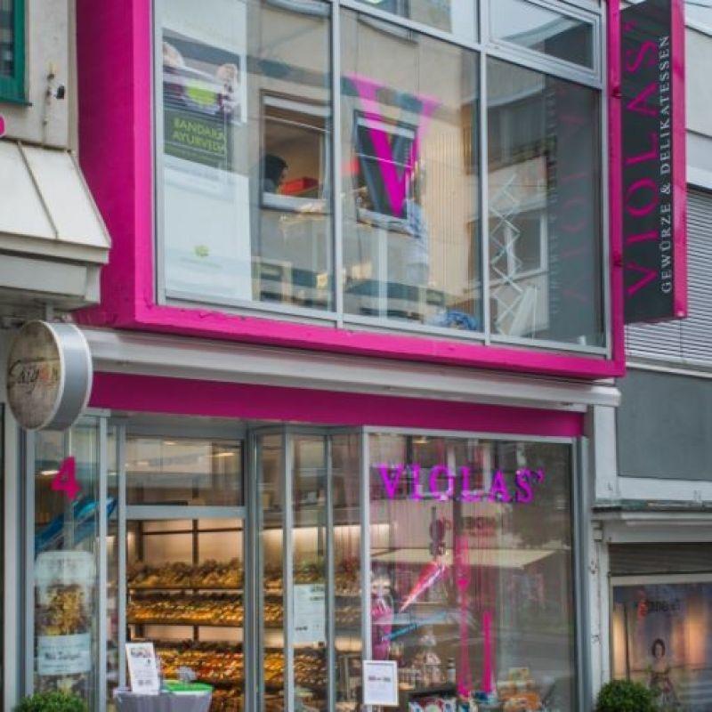 VIOLAS' lädt ein zum Stöbern, Entdecken, zur Inspiration und zum Freude verschenken - VIOLAS´ Gewürze & Delikatessen - Stuttgart