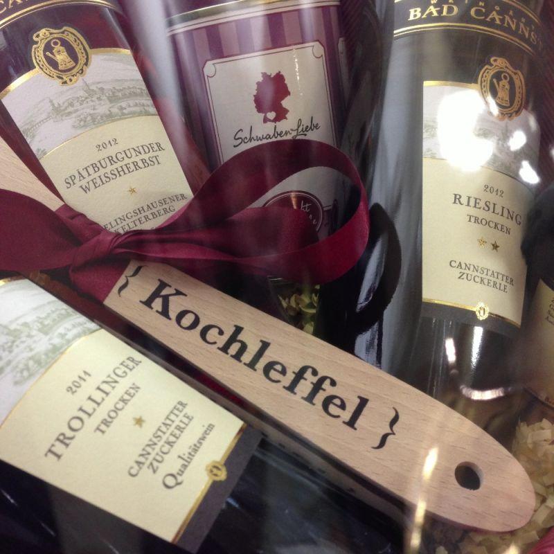 Auch Geschenke mit Weinen der Weingärtner Bad Cannstatt - immer die richtige Wahl für feine Präsente bei der SchwabenLiebe.. - SchwabenLiebe - Stuttgart