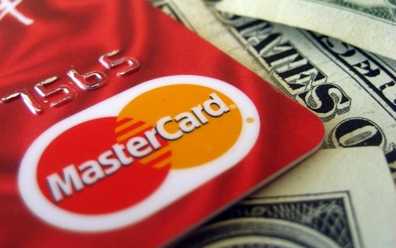 Mastercard, Kreditkarten, Vorlagen für Dimitri Tsykalovs Strick Kunst: knit credit cards - (c) flickr, 401k