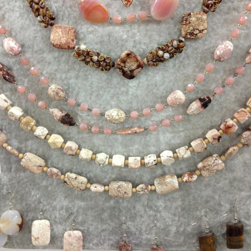 Edelsteinketten - Beads-N-More Glasperlen und Zubehör - Stuttgart- Bild 1