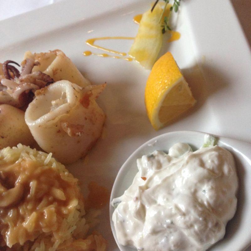 Kalamares mit Reis - Restaurant El Greco - Stuttgart- Bild 3