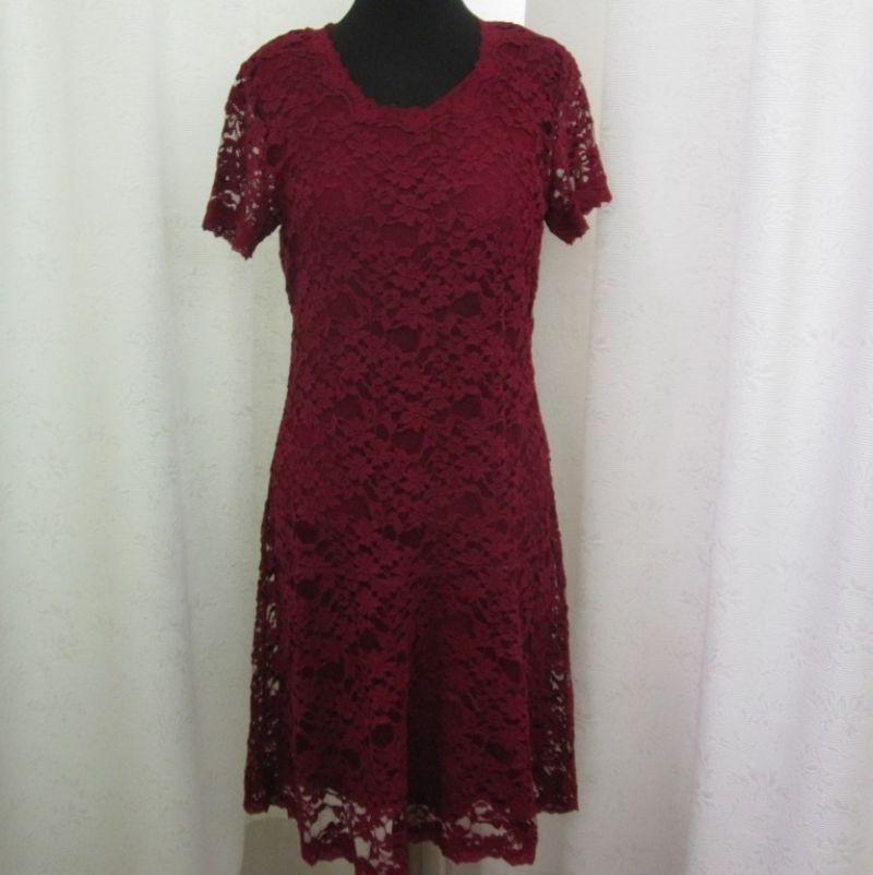 Sorgenfri Spitzenkleid mit Unterkleid in mehreren Farben erhältlich bei Ingrid Moden Augsburg. - Ingrid Moden - Augsburg- Bild 1