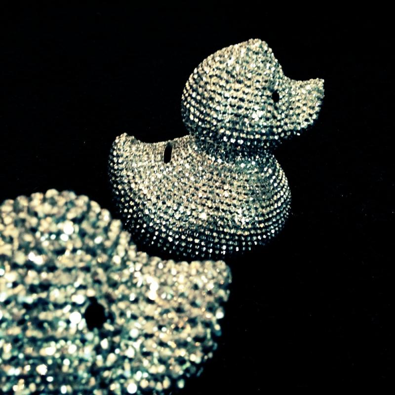 KARE Spardose Glitter Ente  - Surprise Geschenke & Wohnaccessoires - Köln