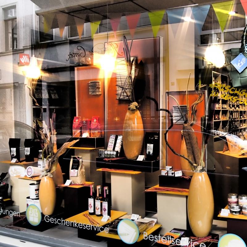 So sieht unser Schaufenster aus! - Gertrude No. 20 für Gourmets und Genussmenschen - Köln