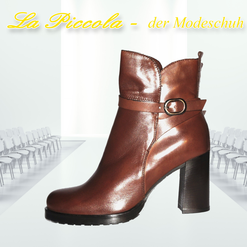 PROGETTO GLAM TOFFY TAN R143 - La Piccola der Modeschuh - Pulheim