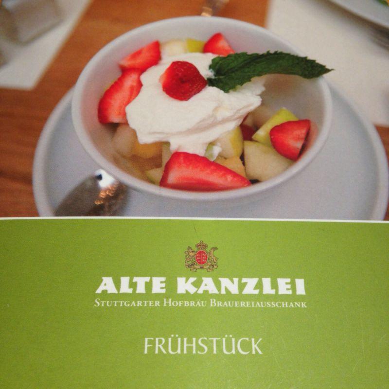 FRÜHSTÜCK - ALTE KANZLEI - Alte Kanzlei - Stuttgart
