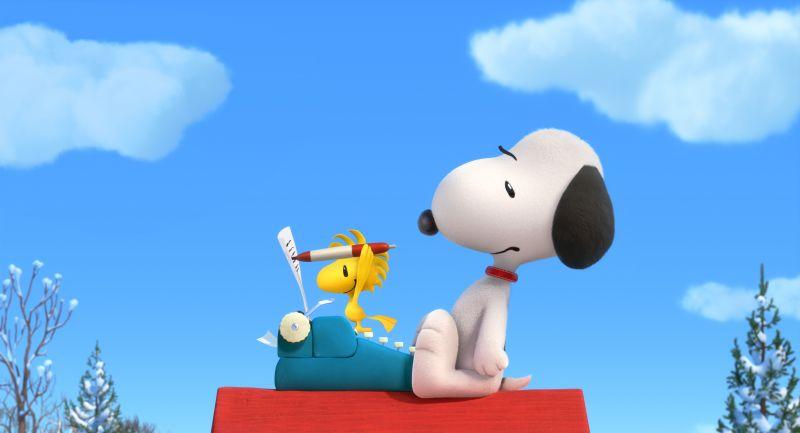 Die Peanuts - Woodstock und Snoopy
