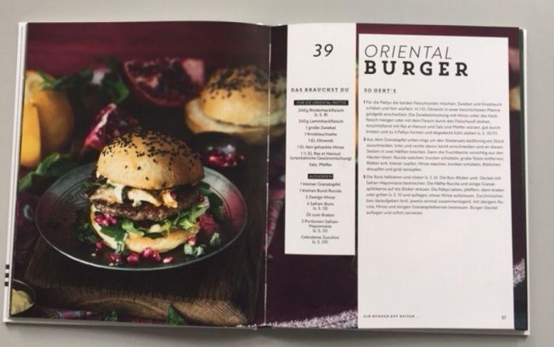 Ziemlich beste Burger / EMF Verlag / Autor:Tanja Dusy / Foto: Christine Pittermann