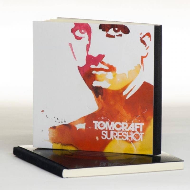 Schallbuch, Notizbuch aus Schallplatte