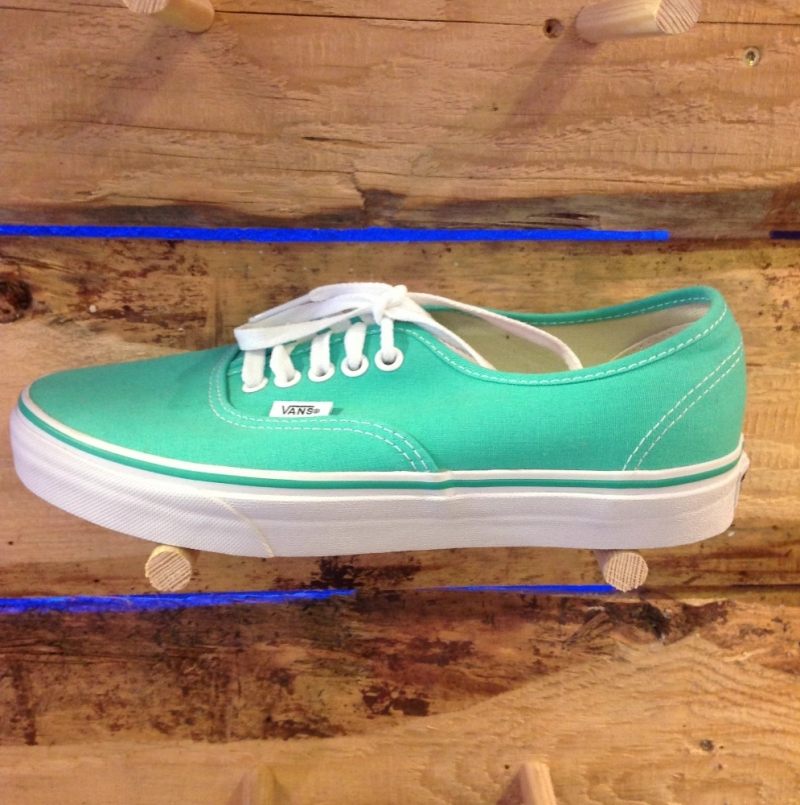 Vans Authentic Pool Green - Roxburry Store Stuttgart - Park and Powder - Stuttgart