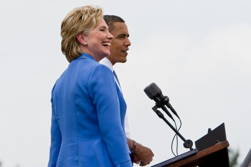 Flickr / Roger H. Goun / Barack Obama / Hillary Clinton / https://www.flickr.com/photos/sskennel/2617232222/in/photolist-4ZgZXu-4Zh13h-4ZcLU6-FxMAYF-Ca4Fur-5hpBHK-4Ao4g4-CsAYye-CzFYFp-DcsiMD-5kCmg9-4TnBmu-4uC3cv-5gUvfu-6uPh45-eeoRVm-4TZRK8-eeoN5G-5nUo9s-eeoNuy-4H8cCv-eeoPbb-4wnhhW-4FLyXR-AMiXRe-4tKmZj-nzWTCe-D9cSSX-e9pP6T-4uPkAi-dPix1x-4wGXsV-4Thz3x-4TmNeY-4Qrkz4-dPp3XQ-5hhk7C-5hhjzh-dPp4eU-dPiqk6-6uK5Zc-5w3HXQ-5w3HYs-5w3HXL-4MhxcT-4MhEqK-4Mhvfn-4MmN2y-4MmCCb-4MhmTc