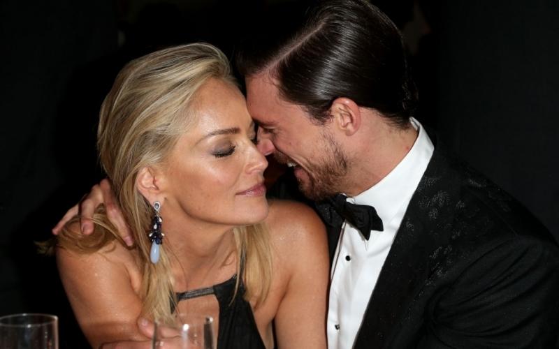 Sharon Stone und Martin Mica - (c) Andreas Rentz/Getty Images