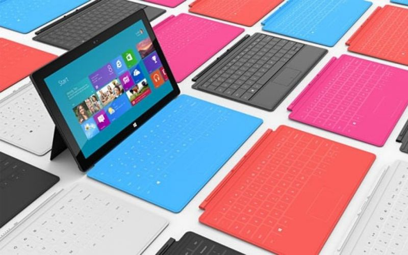 Microsoft Surface Tablet https://www.flickr.com/photos/methodshop/8136538125 Lizenz:https://creativecommons.org/licenses/by-sa/2.0/ - (c) Flickr/methodshop: https://www.flickr.com/photos/methodshop/8136538125
