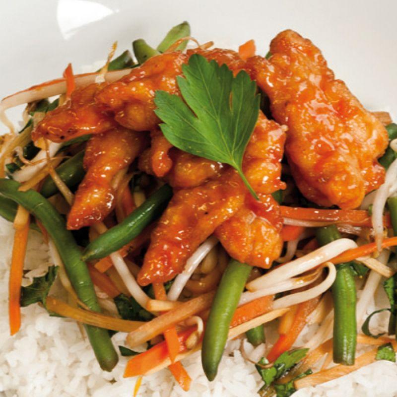 Mandarine Chicken - Mr. Chopsticks - Köln