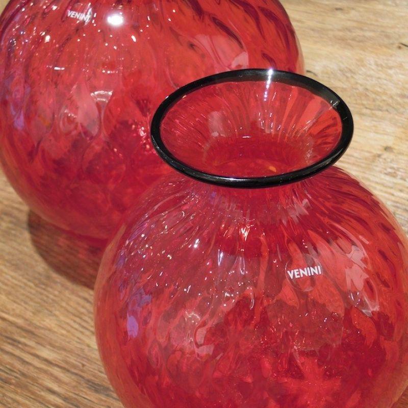 Venini Monofiore Balloton, mundgeblasenes Glas aus Murano in den Farben Rot, Aquamarin, Horizont, Taupe. Verschiedene Größen. Ab € 199,00 - Marcolis Supreme Italian Products - Stuttgart