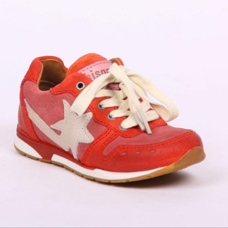 Bisgaard Sportlicher Schuh aus weichen Kalbsleder in den Größen 25 bis 40. seitlicher Reißverschluss  - KINDERSTUBE Pforzheim - Pforzheim