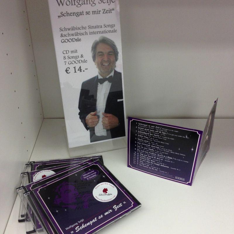 Der schwäbische Frank Sinatra - Wolfgang Selje bei der SchwabenLiebe - Musik CD exklusiv bei uns erhältlich - was für ein schönes Stuttgarter Geschenk!  - SchwabenLiebe - Stuttgart