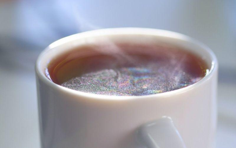 Dampfende Teetasse - (c) Maren Beßler / http://www.pixelio.de/media/192542