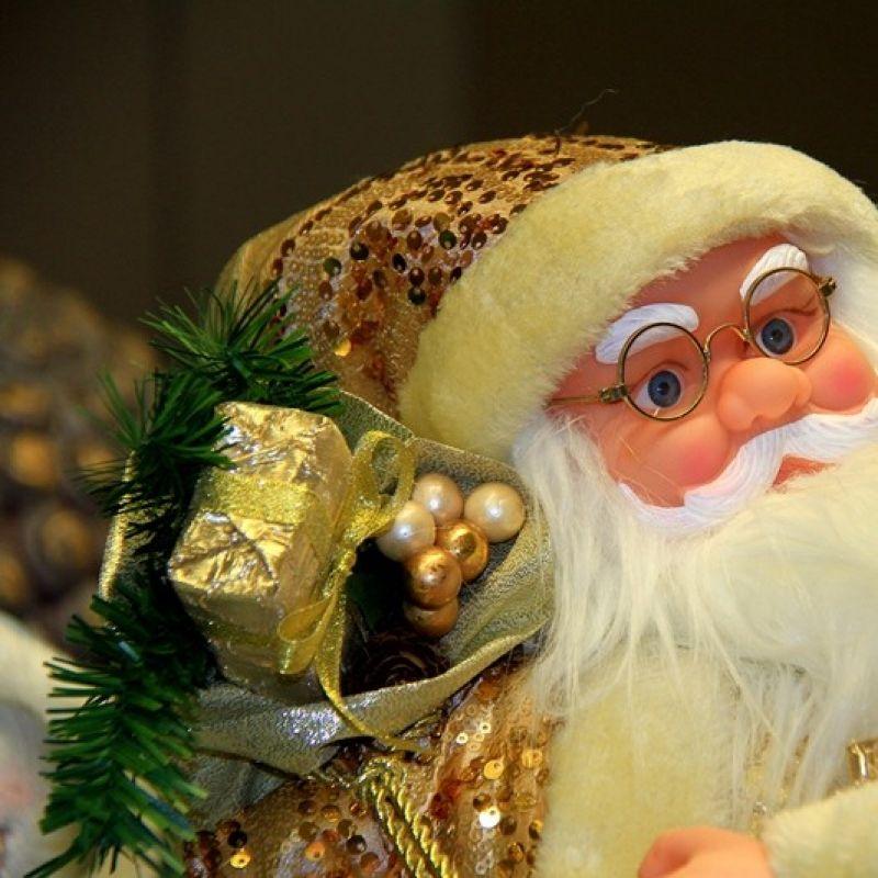 Nikolaus-Puppe mit Musik - HOMESTYLE  - Leinfelden-Echterdingen
