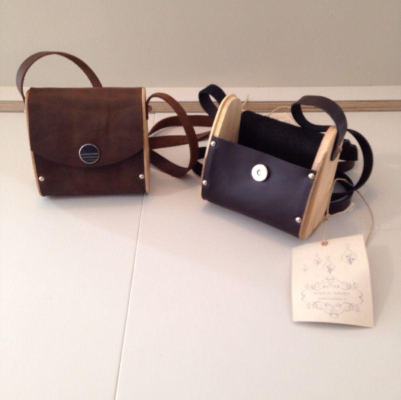 Nussbag; Handtaschen aus natürlichen Produkten (Holz, Leder, Metall) - Astwerk - Augsburg