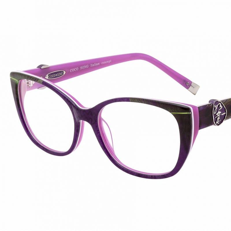CocoSong Seidenbrille mit echten Federn, Unikat in limitierter Auflage - Zinsstag Augenoptik - Stuttgart