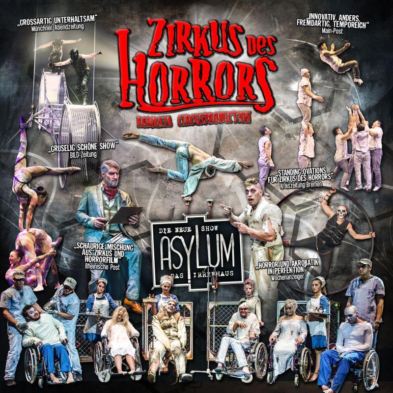 Zirkus des Horrors / Asylum - Das Irrenhaus
