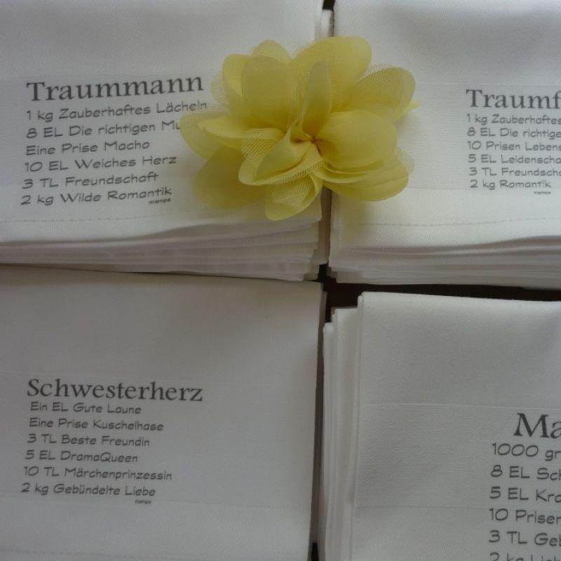 Stoffservietten von Mampa - akzente. Kinder- und Damenmode - Stuttgart
