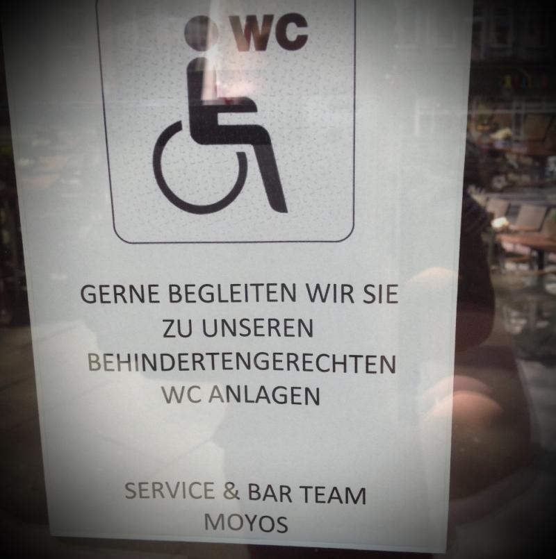 Moyos Behindertengerecht WC Anlage  - Moyos - Köln- Bild 1