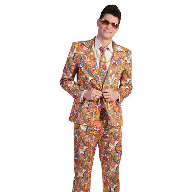 hippie-anzug-richie<br> Achtung, jetzt wird's schrill! Dieser bunte und fröhliche Hippie Anzug für Herren macht jeden Partyauftritt zum absoluten Kracher! Machen Sie sich also bereit für eine atemberaubende Reise in die Hippie – Bewegung.  <br> Home/Kostüme/Hippie&Flower; Power/Herren<br> [http://www.pierros.de/produkt/hippie-anzug-richie, jetzt auf Pierros.de kaufen]  - PIERRO'S in Mayen - Mayen