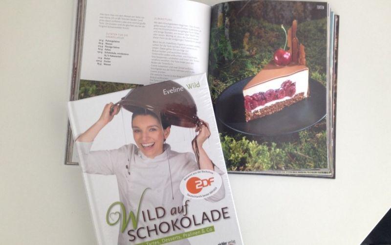 Wild auf Schokolade - Backbuch  - (c) stadtmagazin.com / Anna Brinkmann