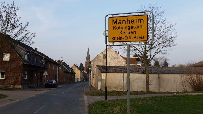 Ortsschild Manheim - (c) Stephan Wagner