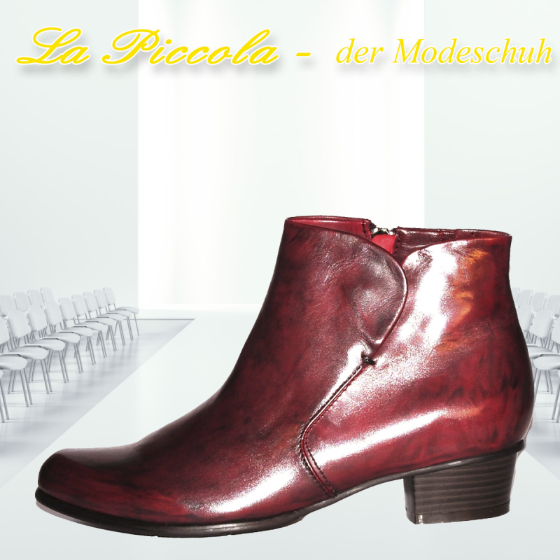 REGARDE LE CIEL STEFANY-87 VAR. 008 GLOVE SANGRIA - La Piccola der Modeschuh - Pulheim