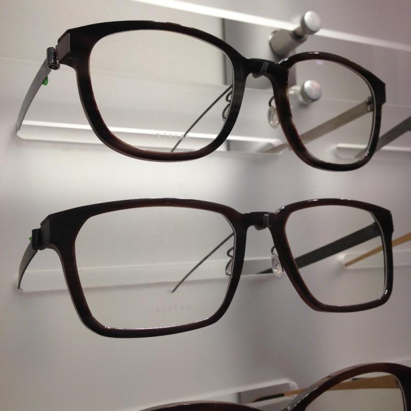 Brillen aus Büffelhorn von LINDBERG - Optiker Kalb - Stuttgart