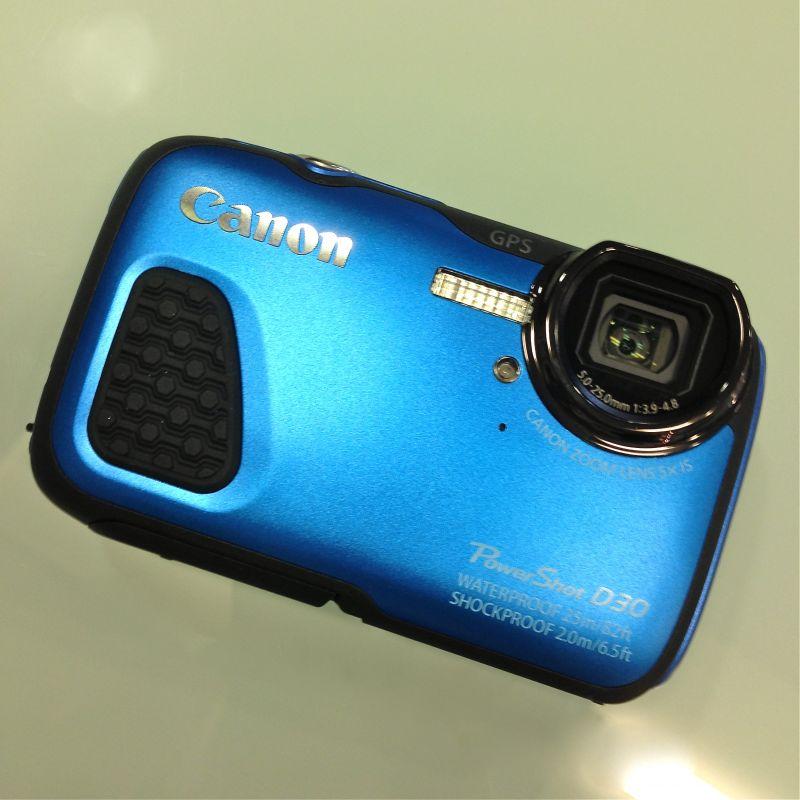 Canon PowerShot D30 DIGITAL CAMERA - Outdoor-Kamera -Unterwasserkamera - Photo Schneider - Kirchheim unter Teck