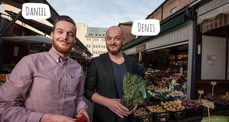 Die zwei Brüder Denis und Daniel starteten ein Unternehmen, das Suppen im Abo-Paket versendet. - © littlelunch