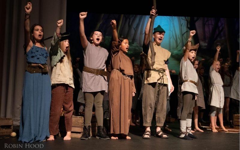 Kindermusiktheater Robin Hood und die Räuber vom Königsforst  - (c) Matthias Burchardt