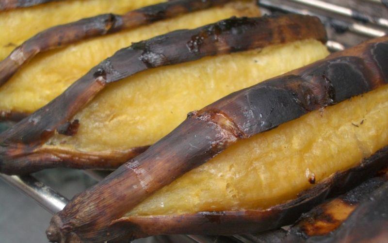 - (c) Sage Kitamorn Grilled Bananas