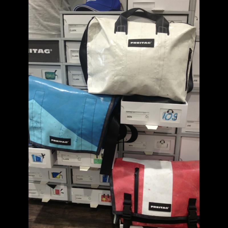 FREITAG-Taschen-AKTION! 10% auf jede FREITAG-Tasche, wir brauchen Platz und räumen das FREITAG-Lager! Bis 30. Juni 2013 oder so lange Vorrat reicht! - nice For Men - Ettlingen