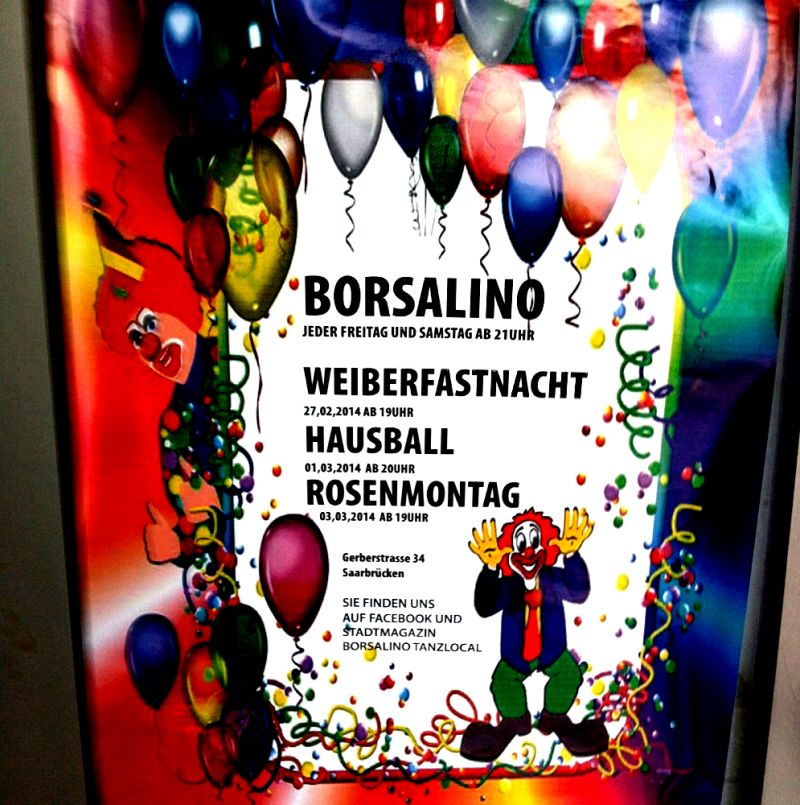 Eintrag #10652 - Borsalino Tanztreff - Saarbrücken